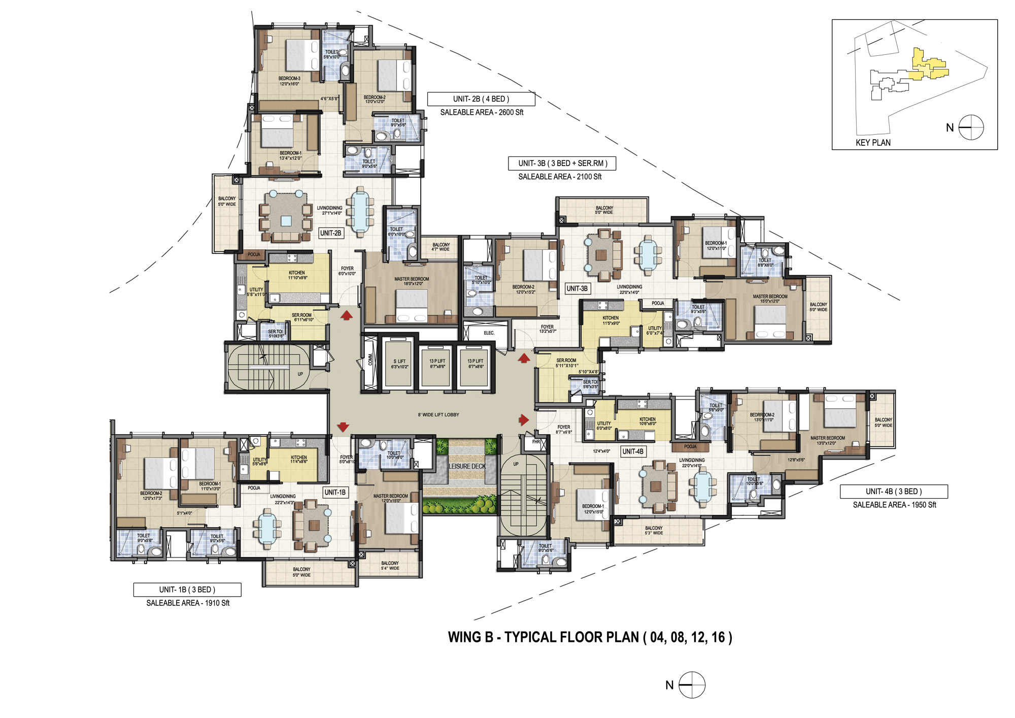 3 4 5 Bhk Premium Flats For Sale In Bangalore Aparna Elina Orion Bms Wiring Diagram Floor Plans