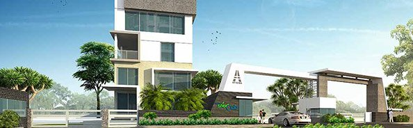 Aparna Hillpark Silver Oaks Entrance