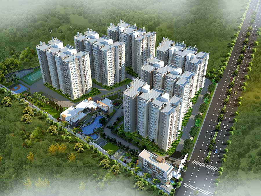 gated community flats in hyderabad
