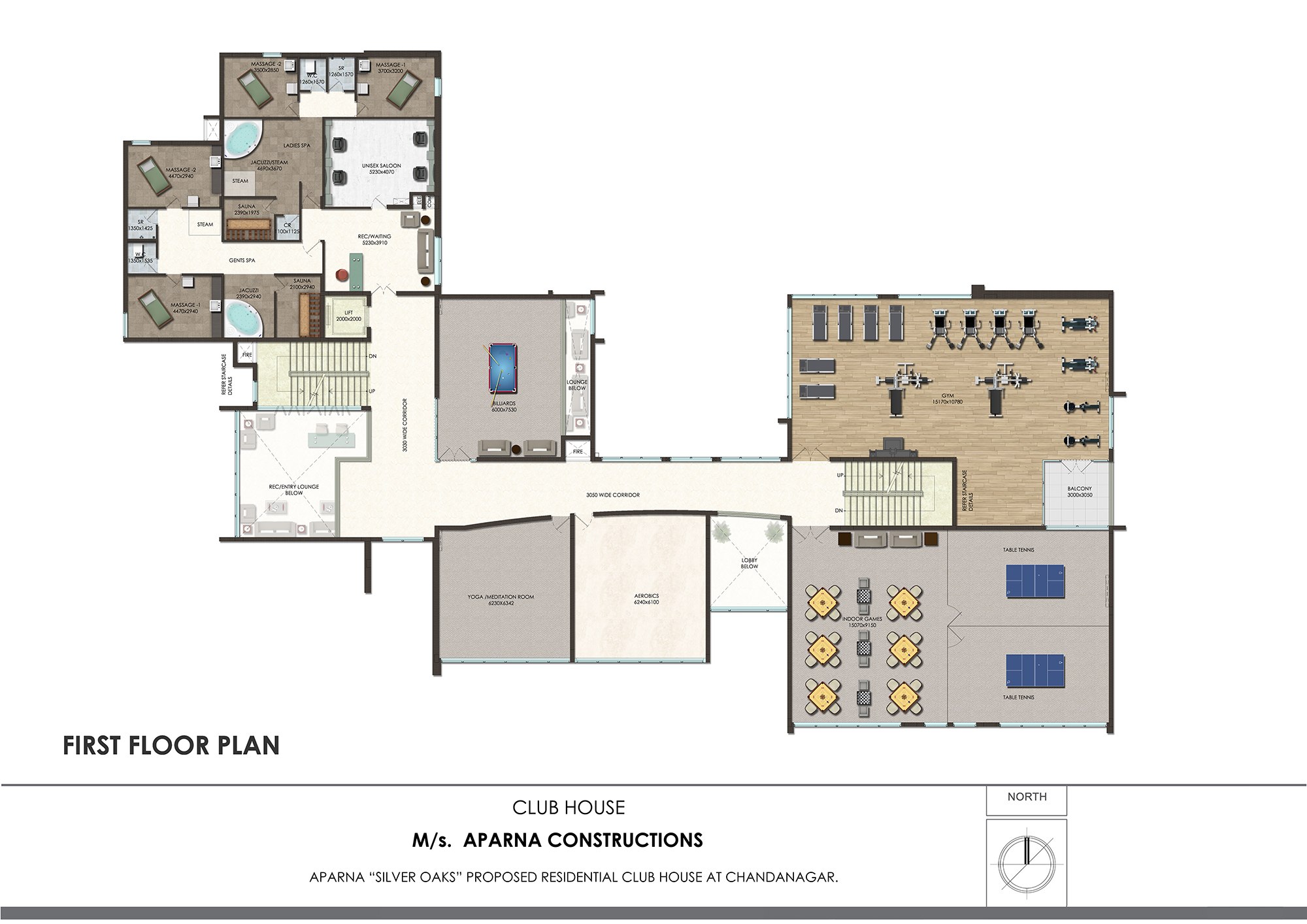 Apartments for sale in Chandanagar | Aparna HillPark Silver Oaks