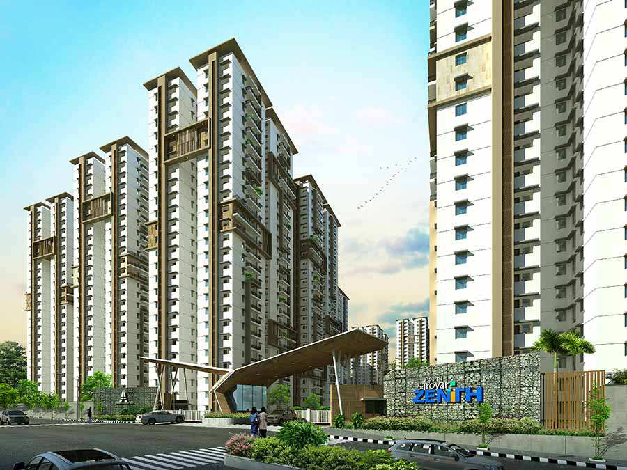 Aparna sarovar zenith apartments in hyderabad