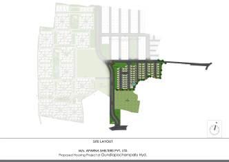 Aparna kanopy Site layout