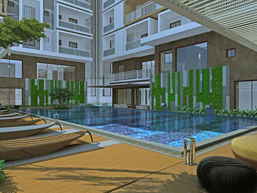 3 BHK Gated Community Flats for sale in Manikonda | Aparna