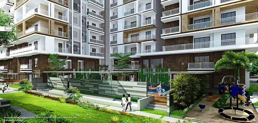 3 bhk apartments in gachibowli