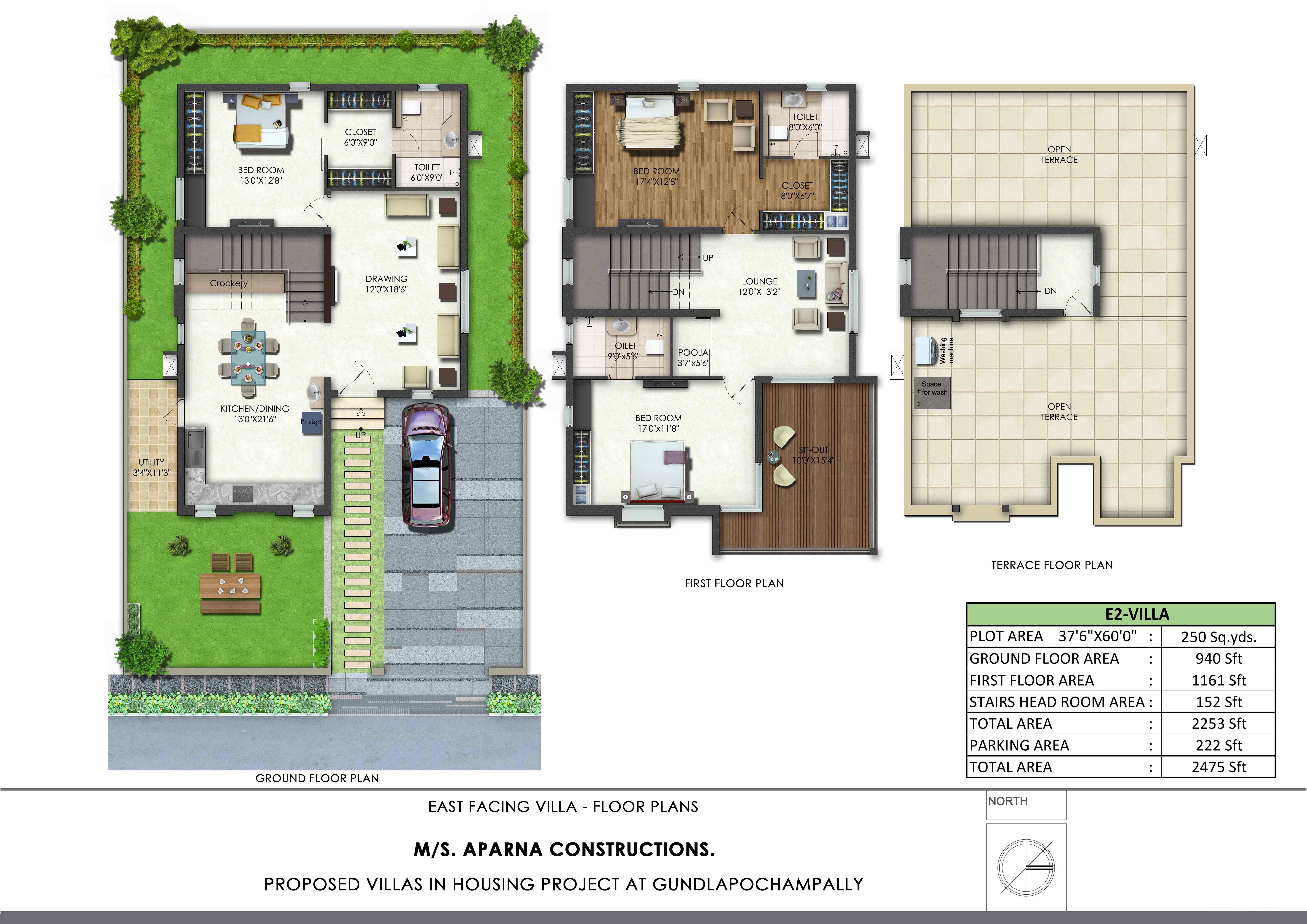 Aparna Kanopy Lotus Floor Plan