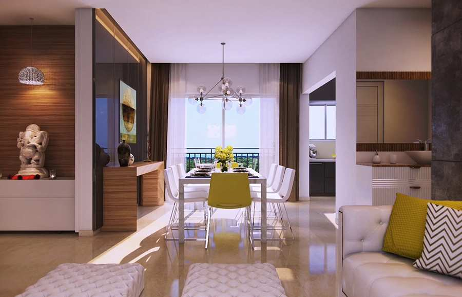 2/3/4 BHK Apartments in Nallagandla for Sale   Aparna Sarovar Zenith