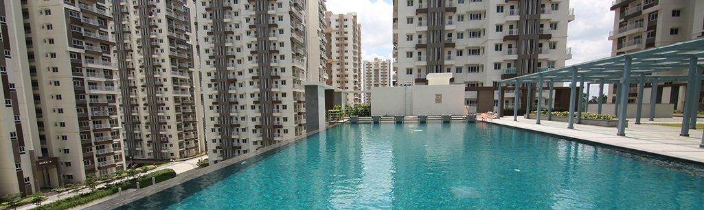 Luxury apartments in Nallagandla