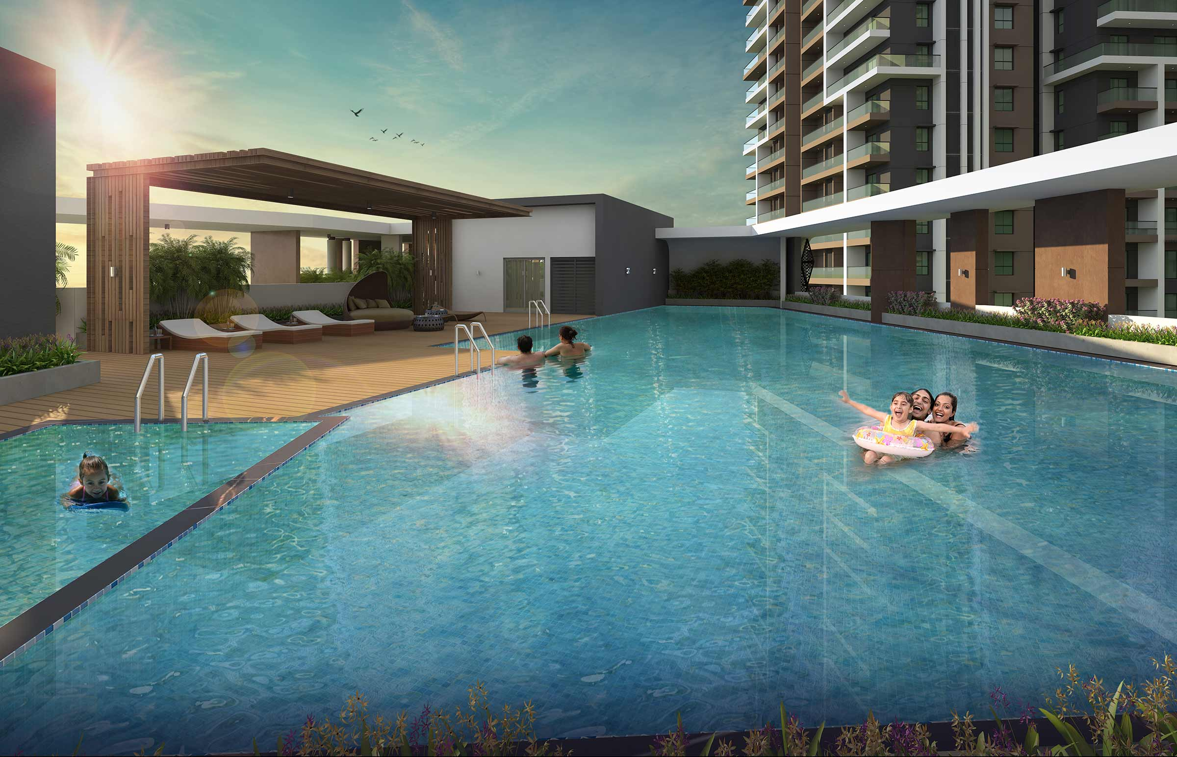 Swimming Pool at Clubhouse
