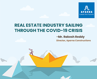 How has the Realty Sector managed to stay afloat through the pandemic?