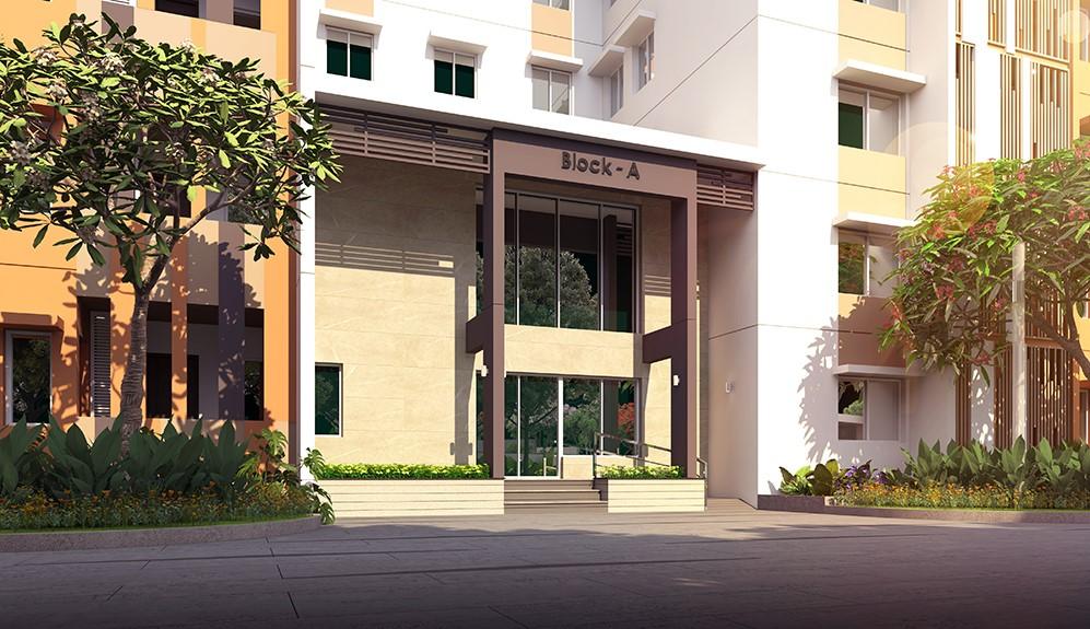 Entrance lounge Block A