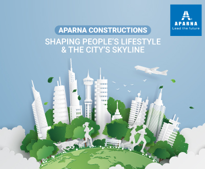 How did Aparna Constructions make it so big?
