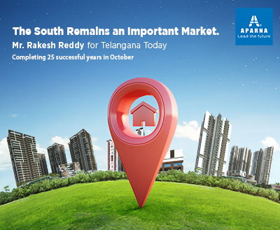 Aparna planning rapid expansion in Hyderabad!