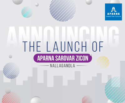 Aparna Constructions set to launch 8 new projects this year!
