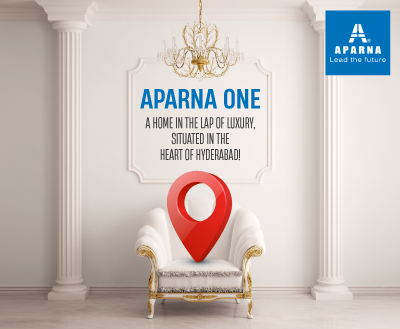 Redefining modern luxury as Aparna Constructions brings to you – Aparna One!